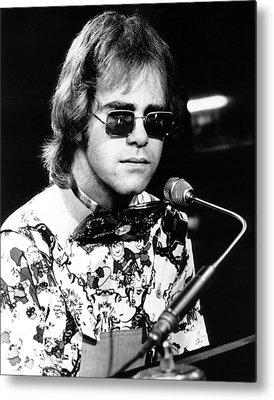 Elton John Photographs Metal Prints