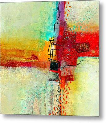 Abstract Collage Metal Prints