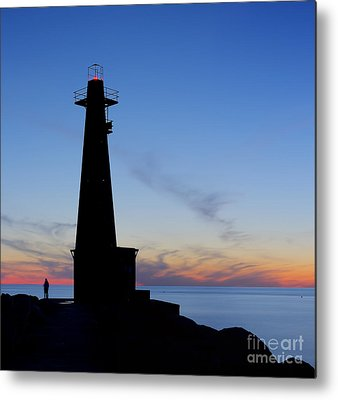 Muskegon Lighthouse Metal Prints