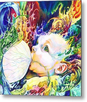 Color Mixed Media Metal Prints