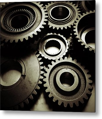 Gear Metal Prints