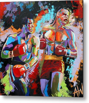 Boxing Metal Prints