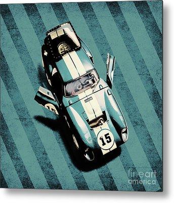 Race Car Metal Prints