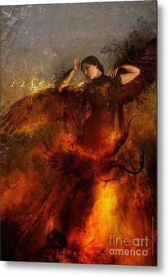 Phoenix Metal Prints