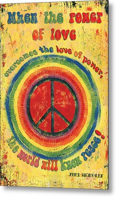 Peace Metal Prints