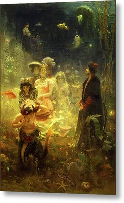 Ilya Repin Metal Prints