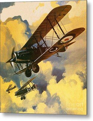 Flying Metal Prints