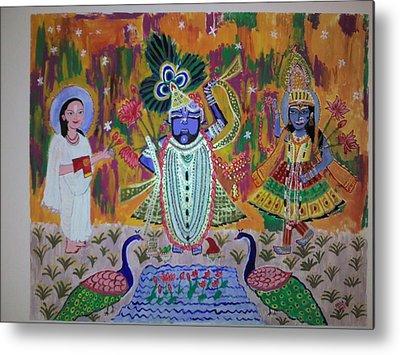 Neha Shah Paintings Metal Prints