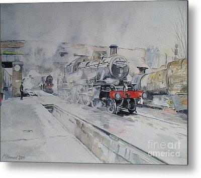 Great Central Railway Paintings Metal Prints