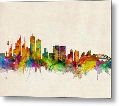 Sydney Skyline Metal Prints
