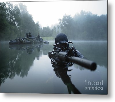 Special Forces Metal Prints