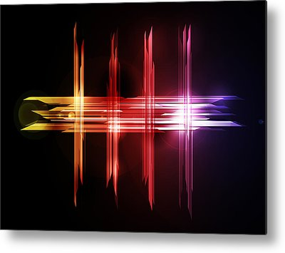 Futuristic Metal Prints
