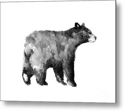 Bear Metal Prints