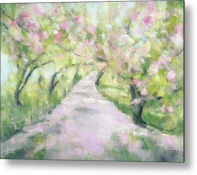 Cherry Blossom Tree Metal Prints