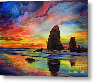 Colorful Rocks Metal Prints