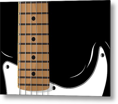 Electric Guitar Metal Prints