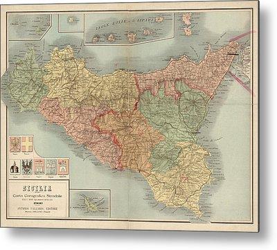Sicily Metal Prints