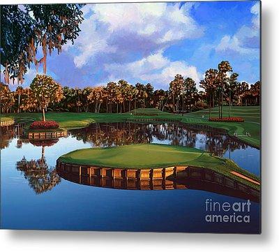 Golfing Metal Prints