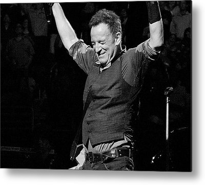 Bruce Springsteen Photographs Metal Prints