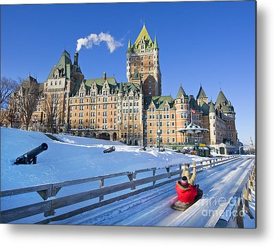 Quebec City Photographs Metal Prints