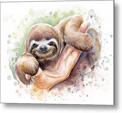 Zoo Animal Metal Prints