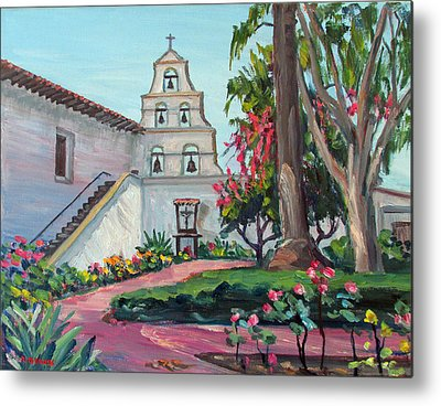 United States Mission Church Paintings Metal Prints