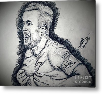 Harry Kane Metal Prints