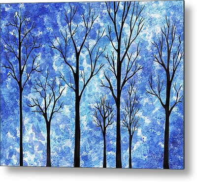 Into The Woods Metal Prints