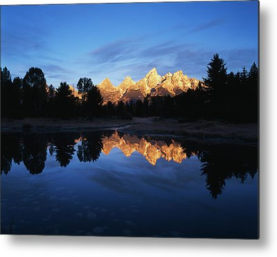 Beaver Pond Metal Prints