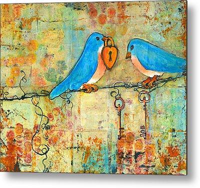 Lovebird Metal Prints