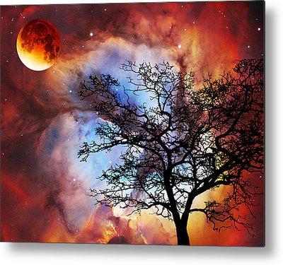 Stargazing Paintings Metal Prints