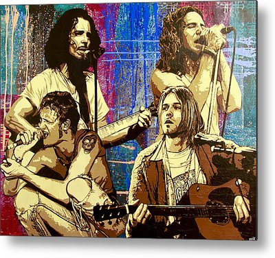 Pearl Jam Metal Prints