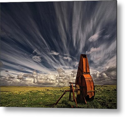 Farm Tool Photographs Metal Prints