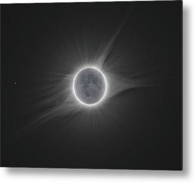 Solar Eclipse Metal Prints
