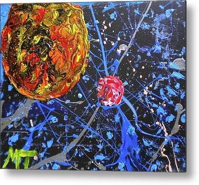 Sublunary World Paintings Metal Prints