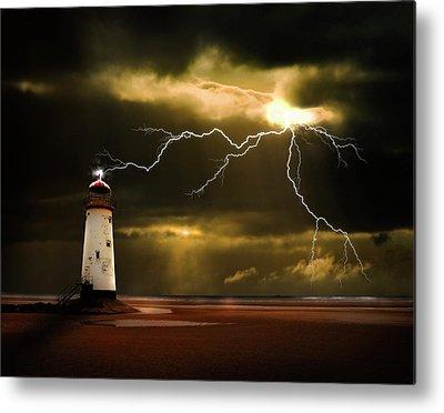Lightning Bolts Metal Prints