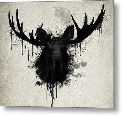 Antlers Metal Prints