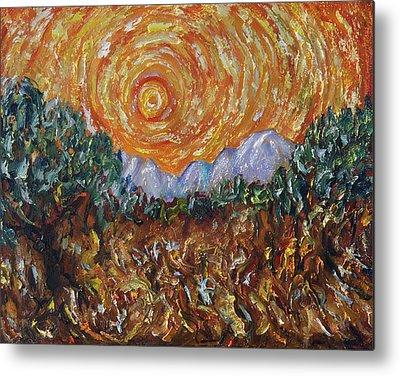 Inspired By Van Gogh Metal Prints