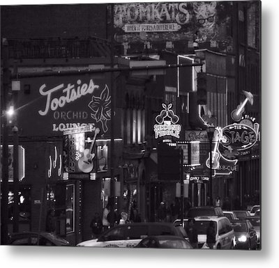 Downtown Nashville Metal Prints