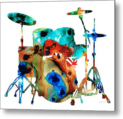 Musical Instruments Metal Prints