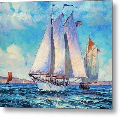 Sailing Vessel Metal Prints