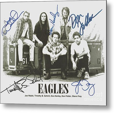 Designs Similar to The Eagles Autographed