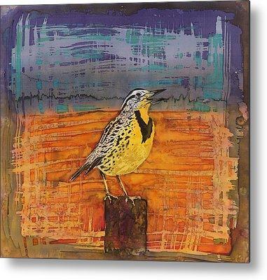 Meadowlark Metal Prints