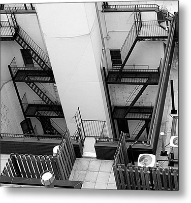 Fireescape Metal Prints