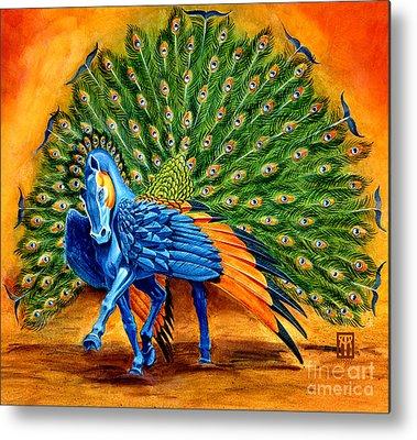Pegasus Metal Prints