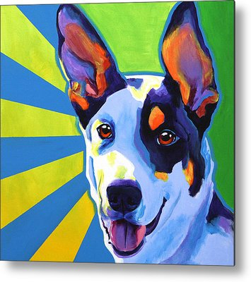 Collie Metal Prints