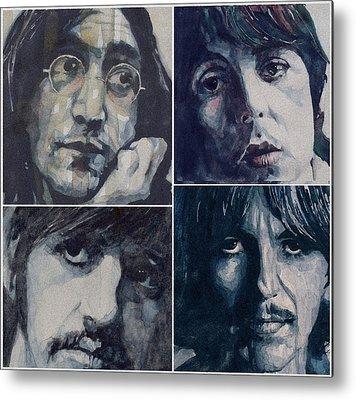 Fab Four Metal Prints