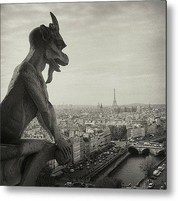 Eiffel Tower Metal Prints