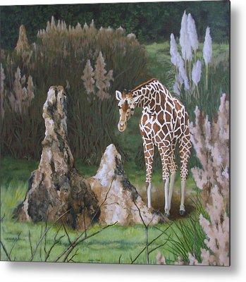 Termites Paintings Metal Prints