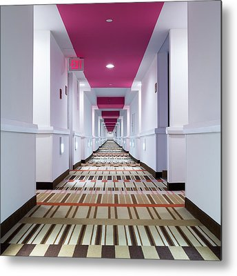 Hallway Metal Prints
